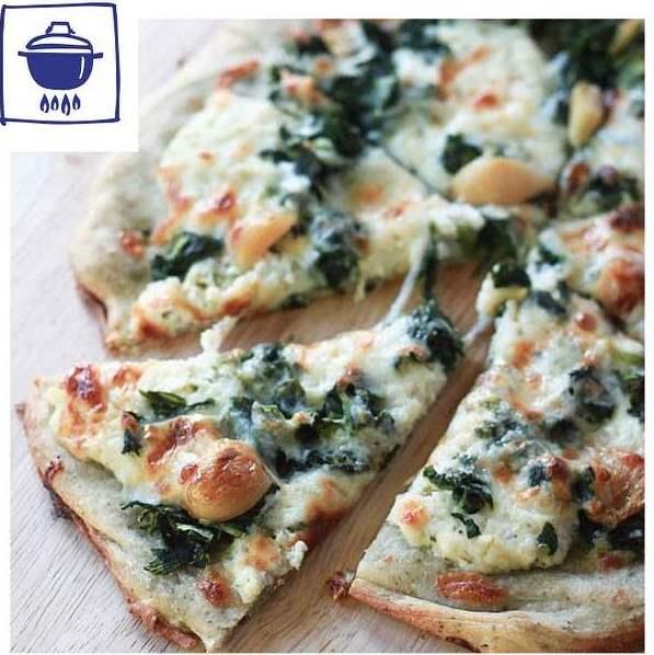 alimentación: pizza