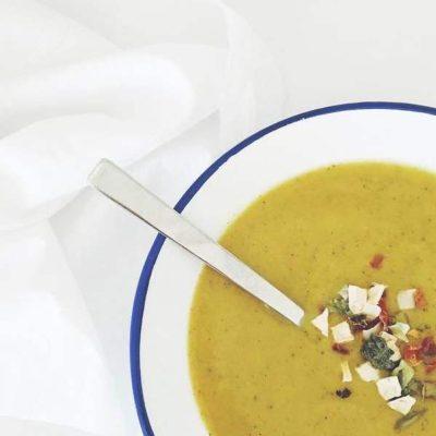 alimentación: calabacín y zanahoria
