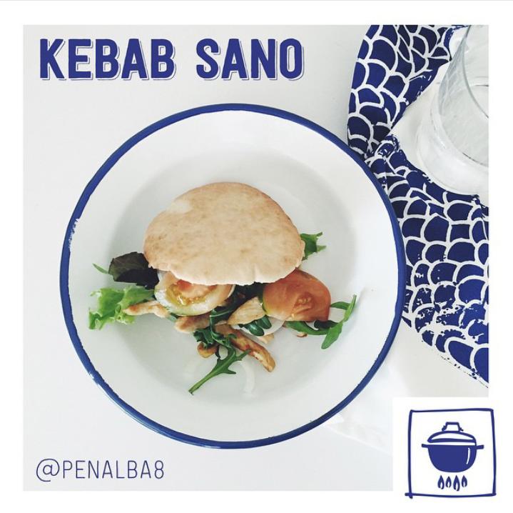 alimentación: kebab sano