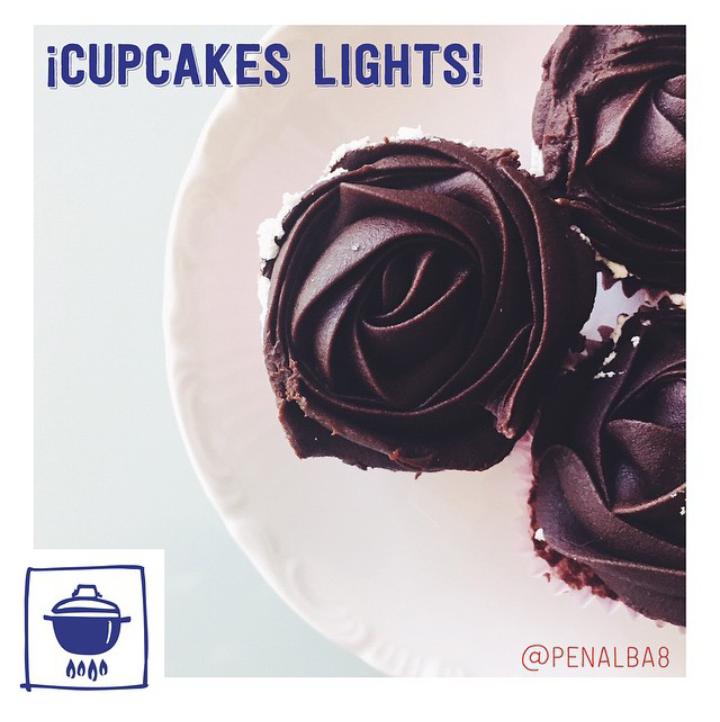 alimentación: las cupcakes lights