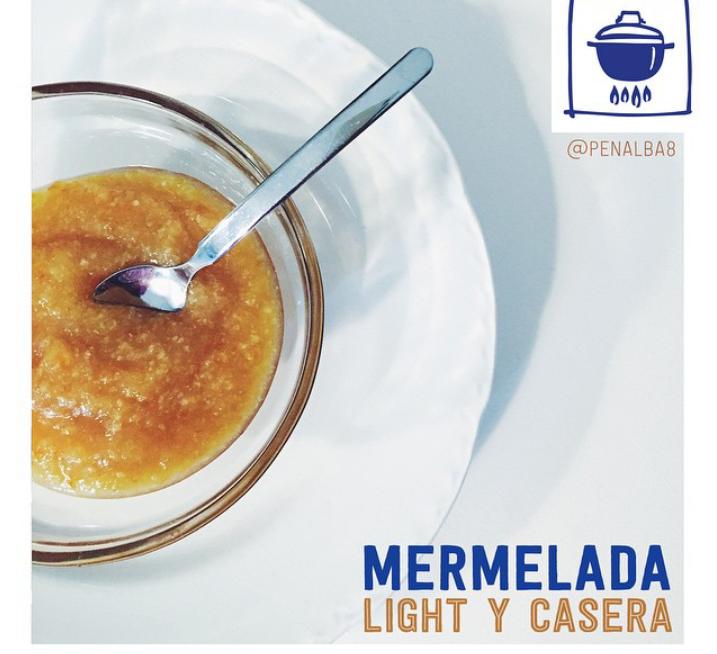 alimentación: mermelada light casera