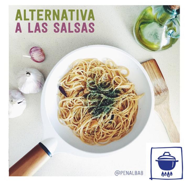 alimentación: alternativa a las salsas