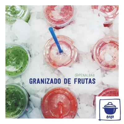 alimentación: beneficios del granizado de frutas