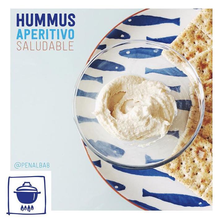 alimentación: beneficios del hummus