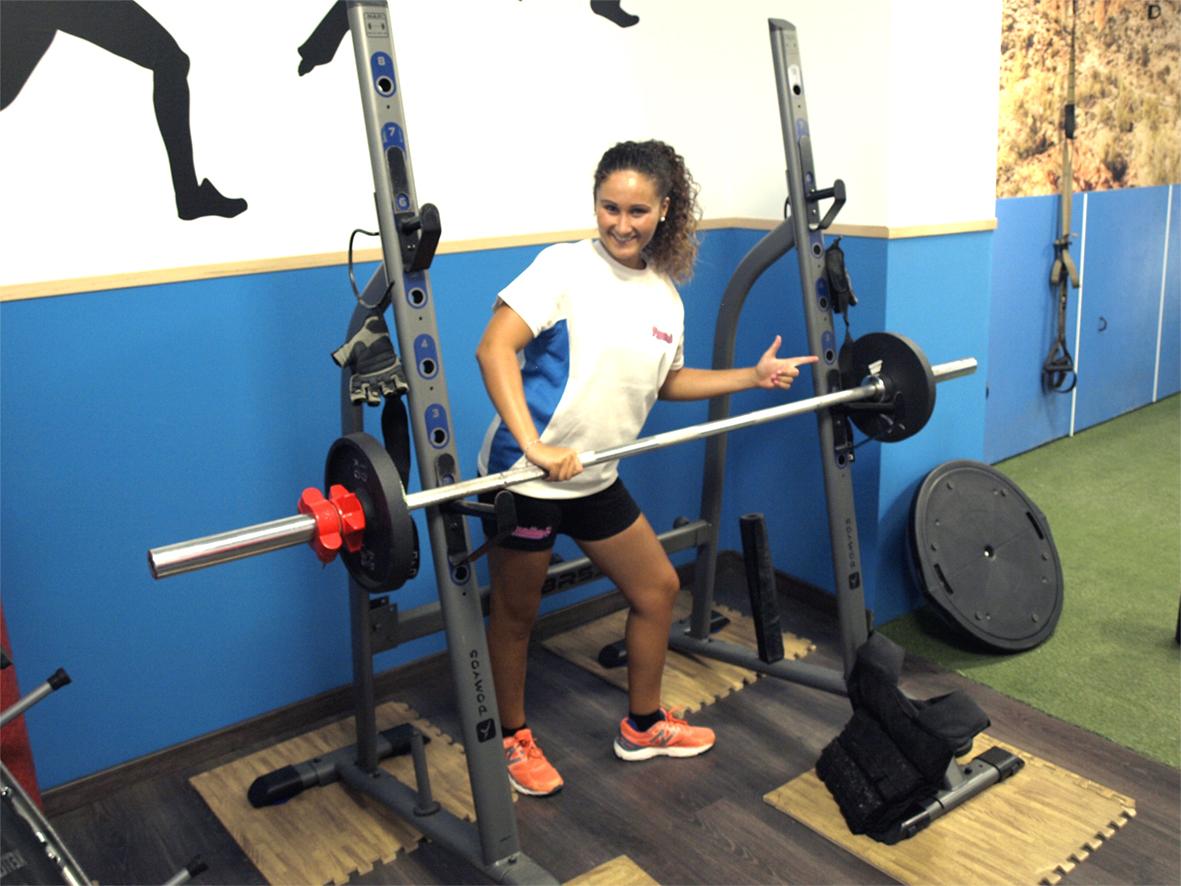 mujer y musculación: compatibles