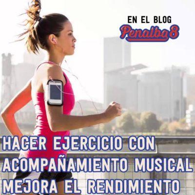 Acompañamiento musical: ¿mejora el rendimiento?