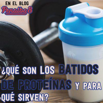 para qué sirven los batidos de proteínas