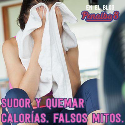 Sudor y quemar calorías: mito o realidad