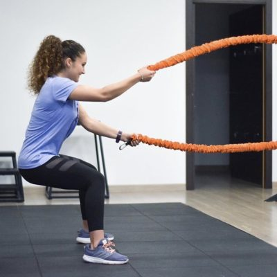 las battle ropes
