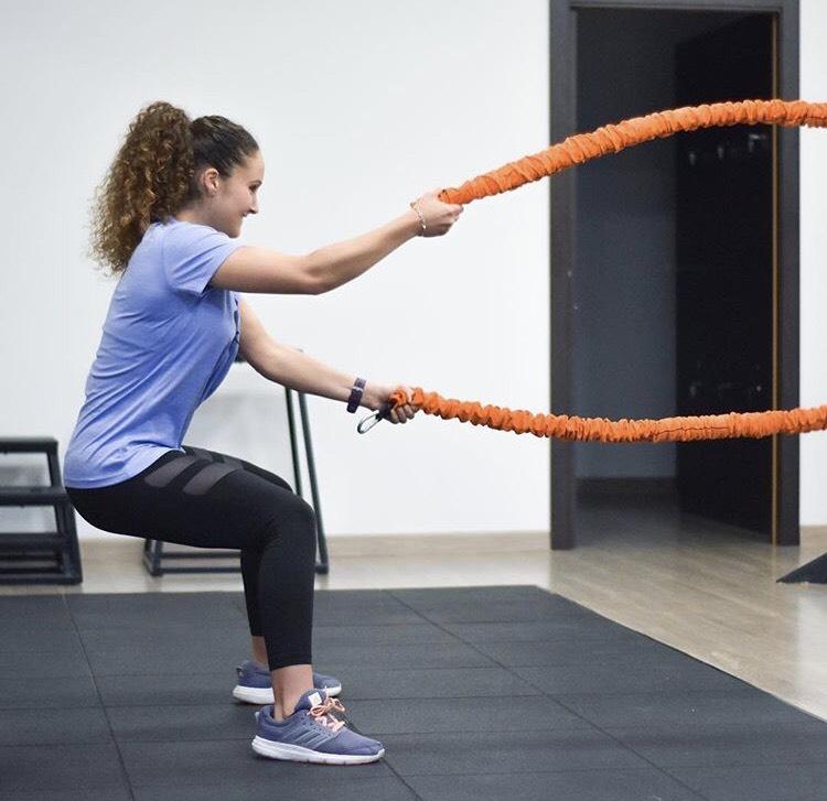 las battle ropes