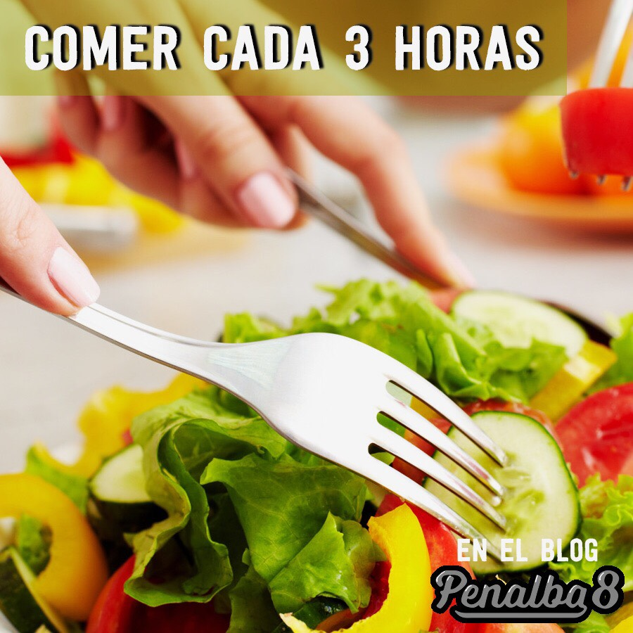 beneficios de comer cada 3 horas