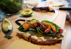 sandwich de kale