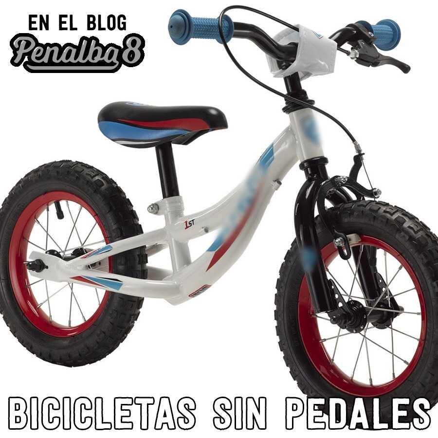 Las bicicletas sin pedales