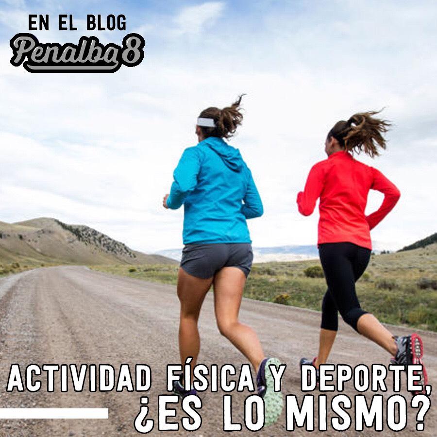 actividad física y deporte no es lo mismo