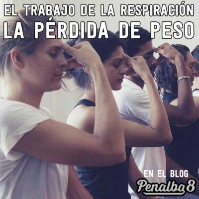 el trabajo de la respiración para pérdida de peso