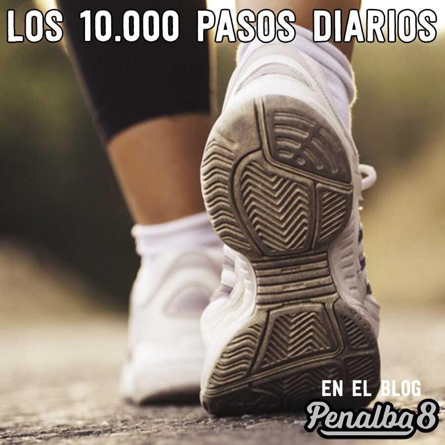 los 10.000 pasos diarios