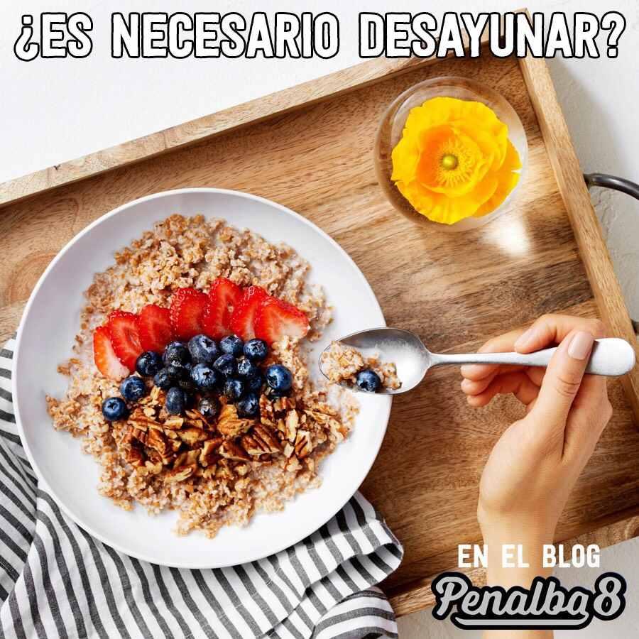 es necesrio desayunar